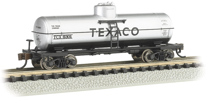 Texaco #6301 - ACF 36.5' 10,000 Gallon Single-Dome Tank Car