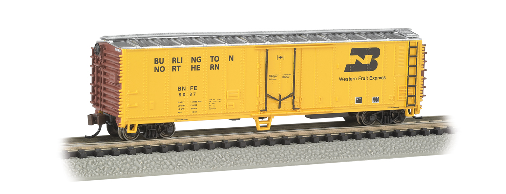 Burlington Northern - ACF 50' Steel Reefer