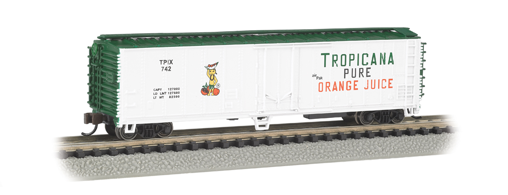 Tropicana (White & Green) - ACF 50' Steel Reefer