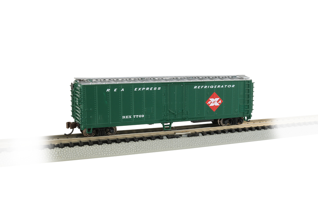 Railway Express - ACF 50' Steel Reefer