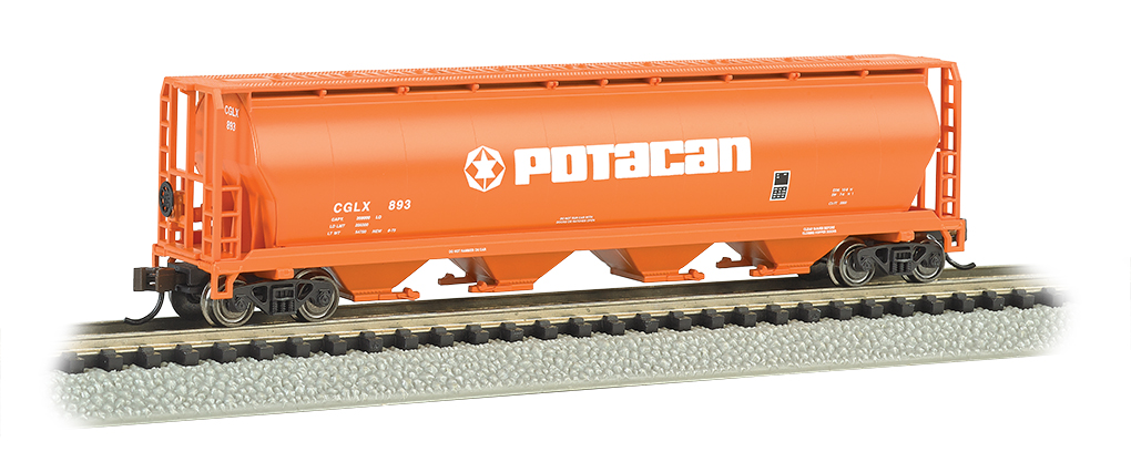 Potacan - 4 Bay Cylindrical Grain Hopper