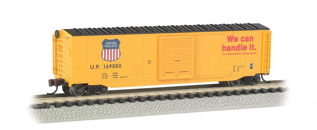 Union Pacific® - 50' Sliding Door Box Car [19455] - $35.00 : Bachmann  Trains Online Store