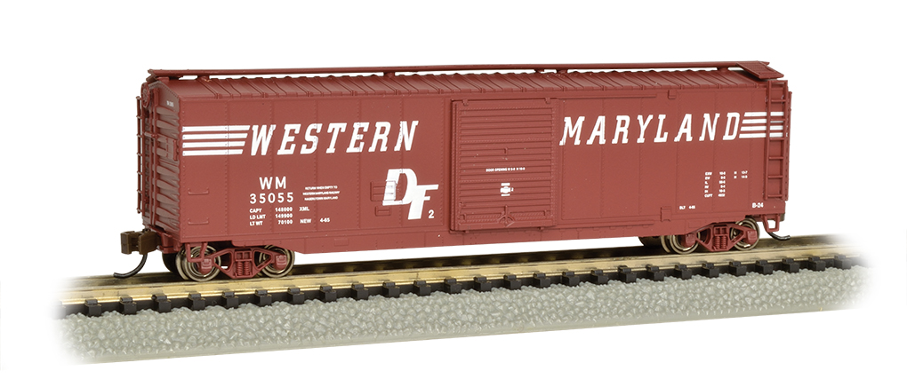 Western Maryland® - 50' Sliding Door Box Car