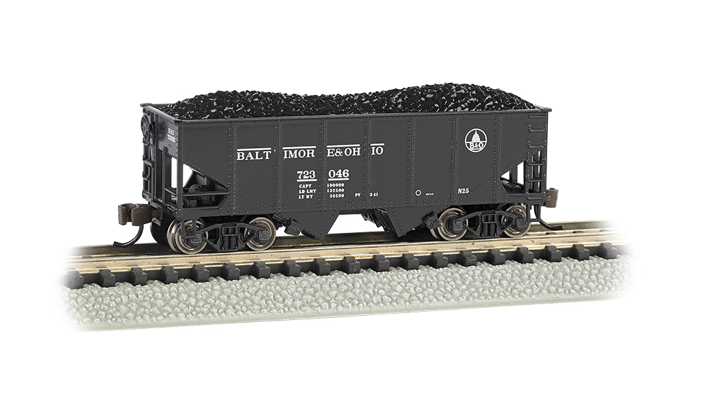 Baltimore & Ohio® #723046 - USRA 55 Ton 2-Bay Hopper