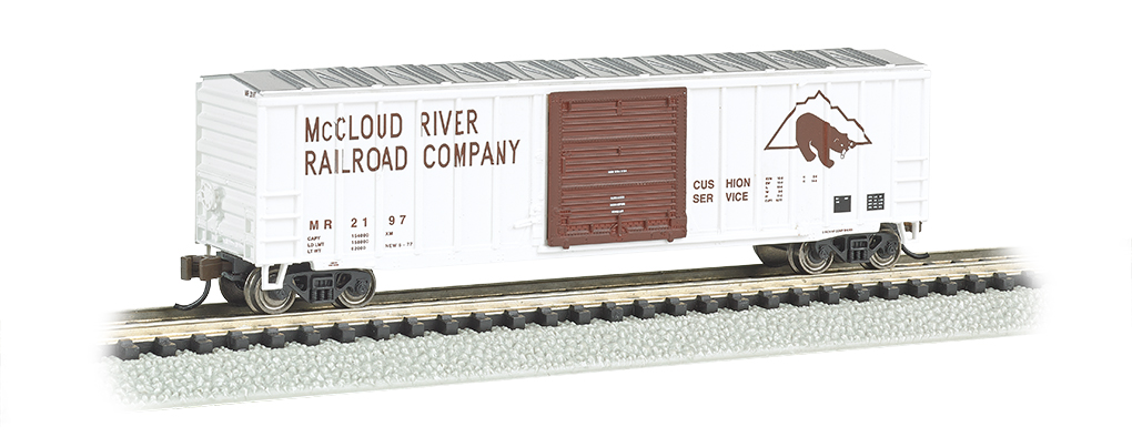 McCloud River - ACF 50.5' Outside Braced Box Car