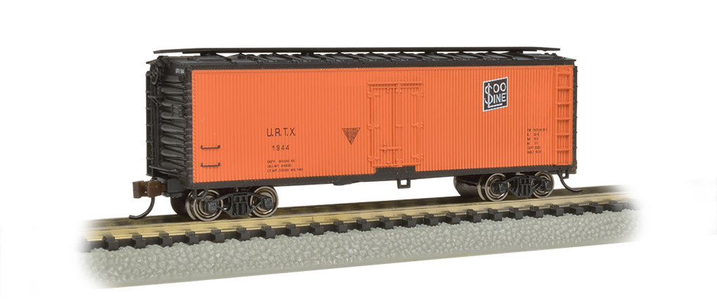 Union/Soo Line - 40' Wood-side Refrigerated Box Car