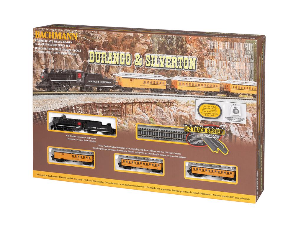 Durango & Silverton (N Scale) [24020] - $209.00 : Bachmann Trains ...
