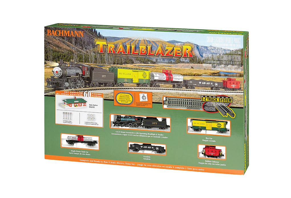 Bachmann 24024 N Trailblazer Train Set Chesapeake & Ohio