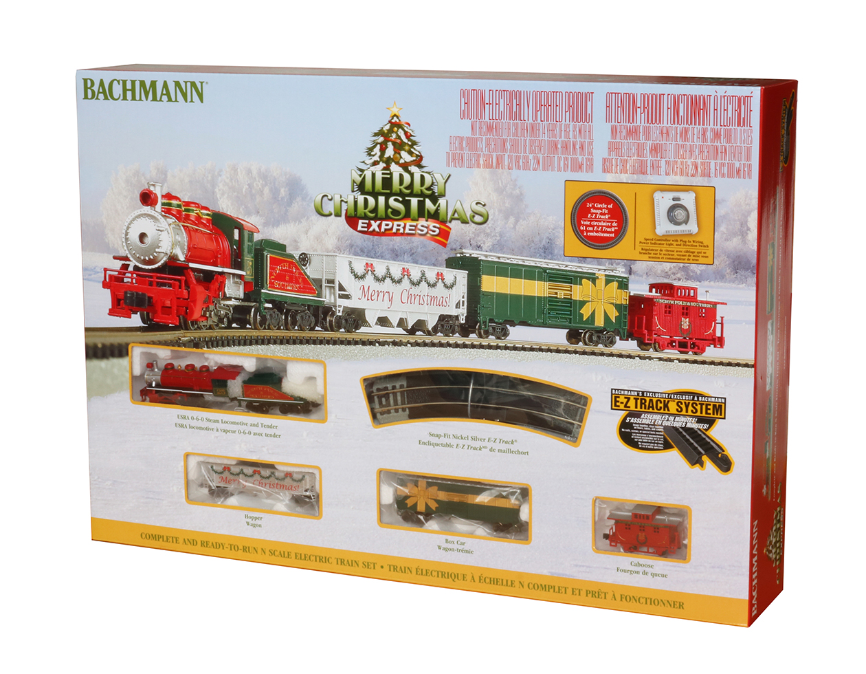 Merry Christmas Express (N Scale)