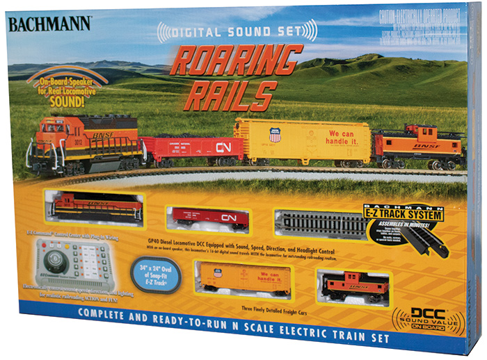 Roaring Rails with Digital Sound (N Scale)