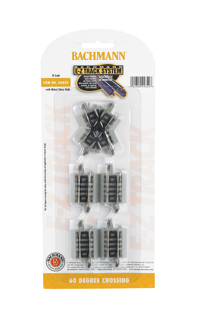 60 Degree Crossing Tracks (N Scale)