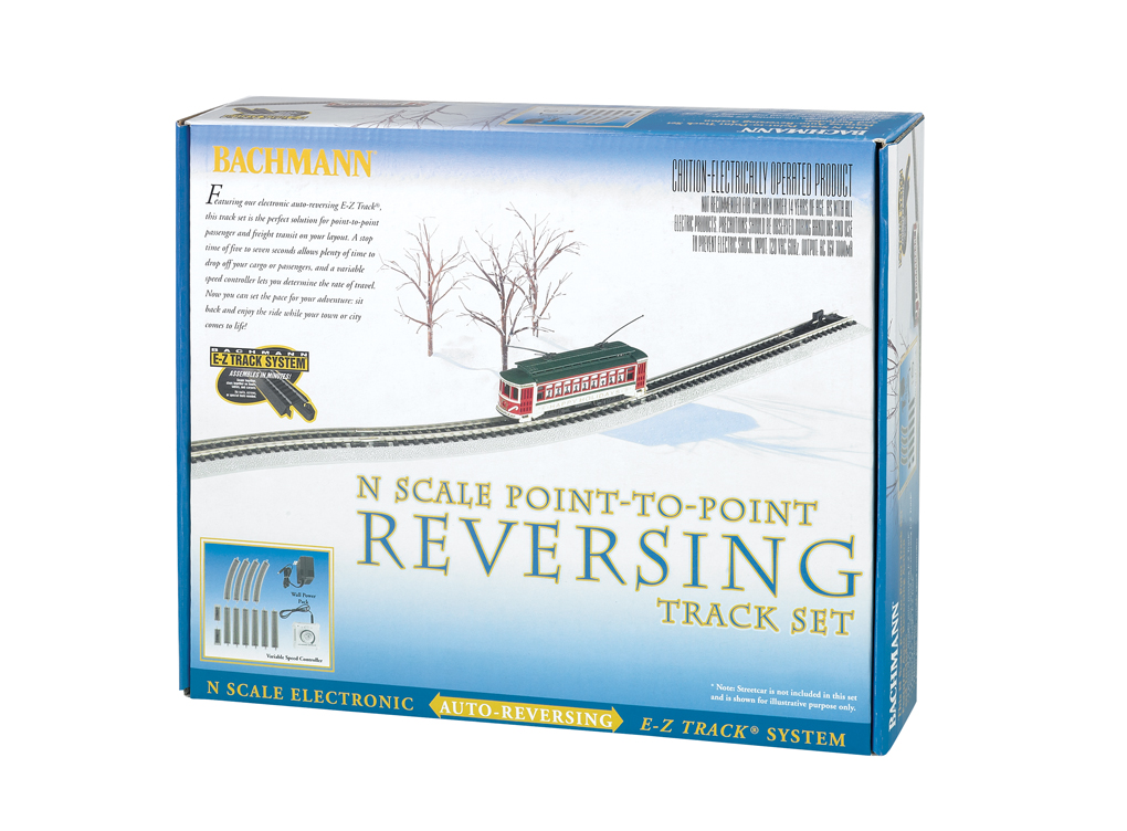 Nickel Silver E-Z Track® Auto-Reversing System - N Scale