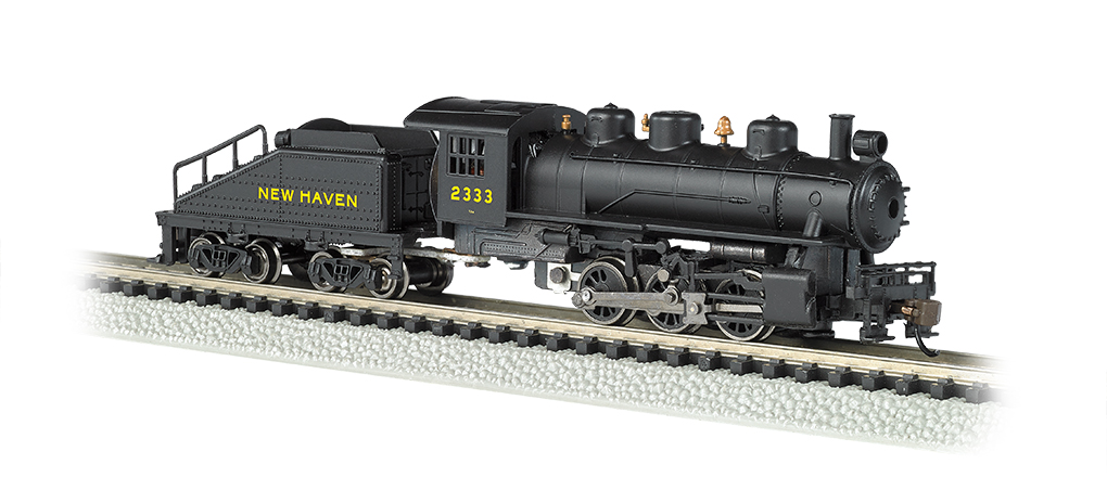 New Haven #2333 - USRA 0-6-0 Switcher & Tender (N Scale)