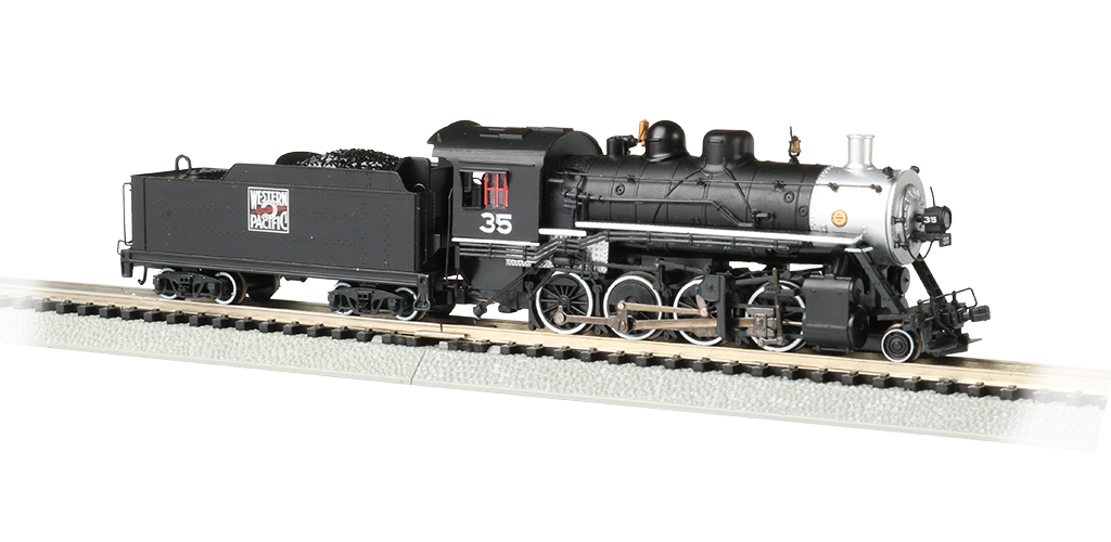 Bachmann 51351 N Baldwin 2-8-0 Consolidation Sound and DCC Western Pacific #35