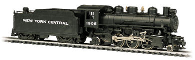 New York Central #1905 - 2-6-2 Prairie & Tender