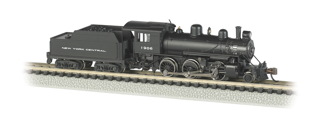 New York Central® #1906 - ALCO 2-6-0 - DCC (N Scale)