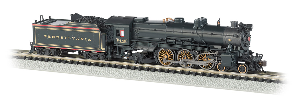 Pennsylvania Pre-War Brunswick Green #5440 (N Scale K4 4-6-2)