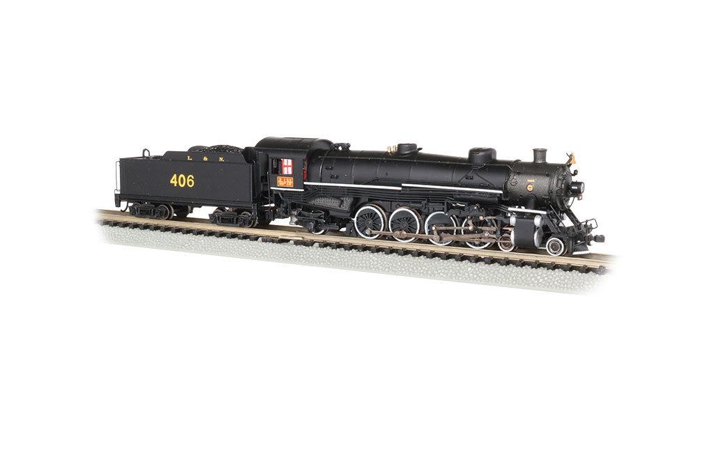 L&N® #406 - 4-8-2 Light Mountain - DCC Sound Value