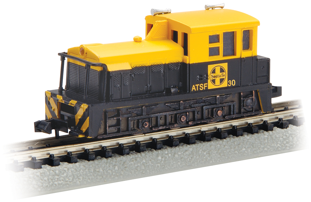 Santa Fe #30 (Blue & Yellow) - MDT Plymouth Switcher