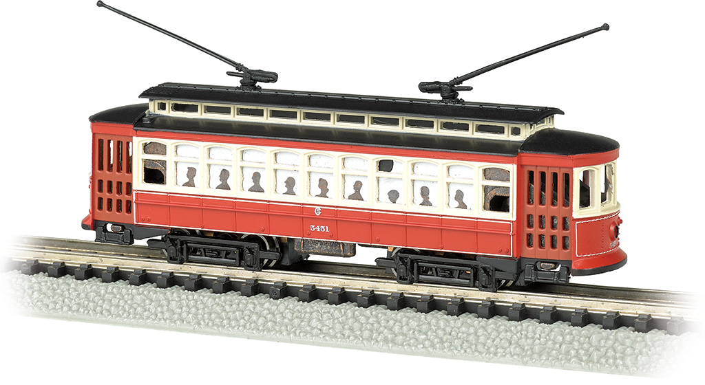 Bachmann 61091 N Brill Trolley Standard DC Chicago 160-61091