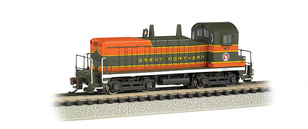 Great Northern #147 - NW-2 Switcher - DCC