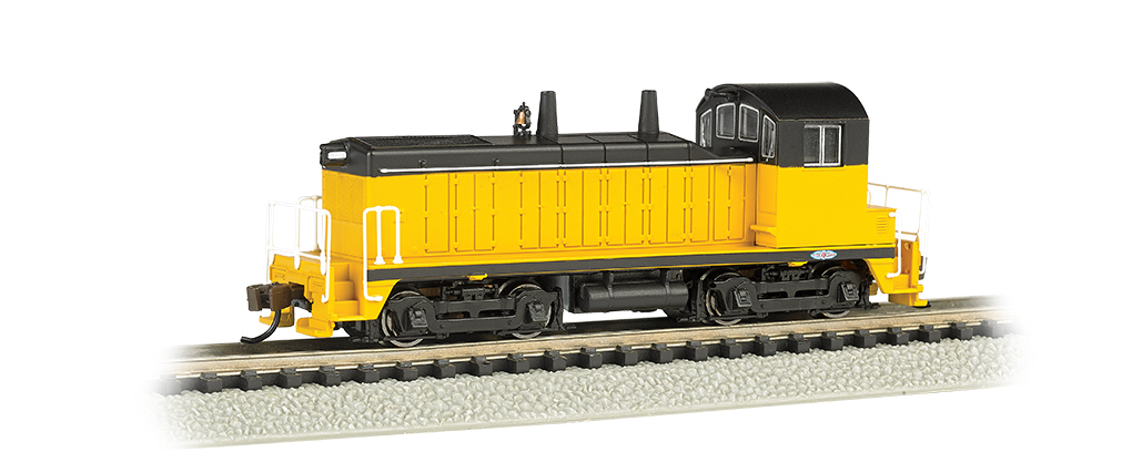 Painted, Unlettered - Yellow & Black - NW-2 Switcher - DCC