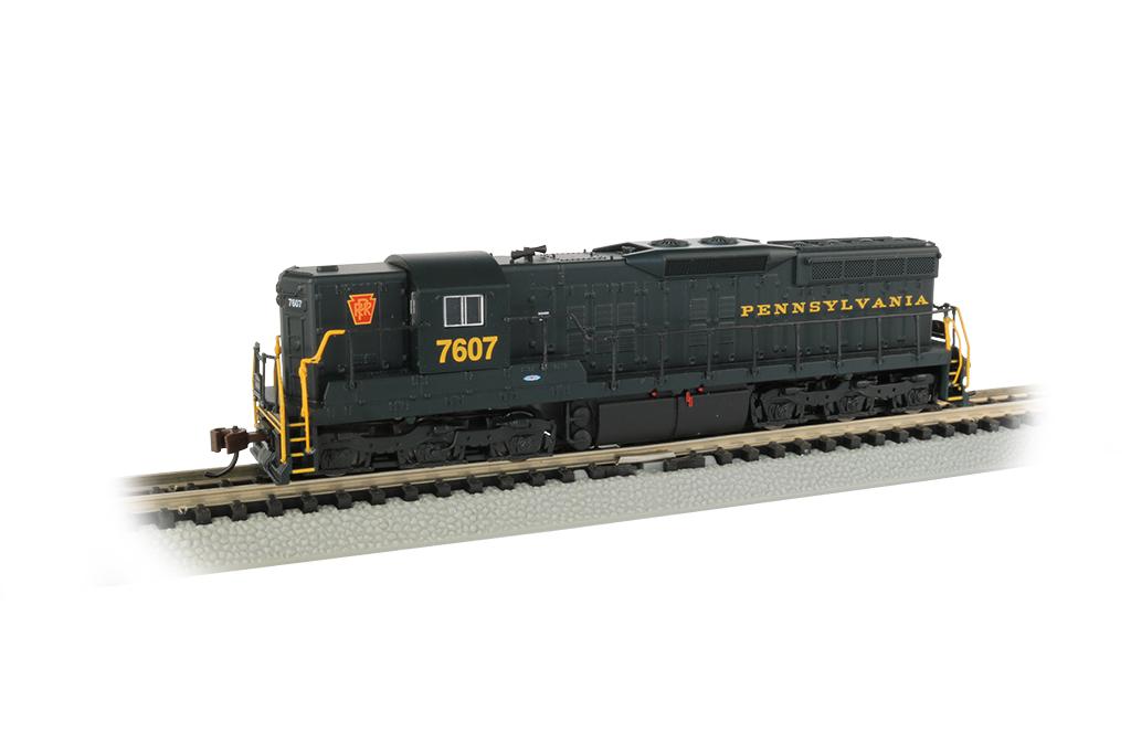 Bachmann 62352 N EMD SD9 Sound & DCC Pennsylvania 7607 Brunswick Green 160-62352