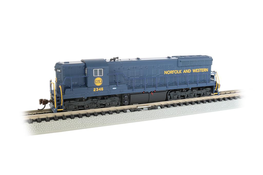 Bachmann 62353 N EMD SD9 Sound & DCC Norfolk & Western 2346 Hamburger Logo