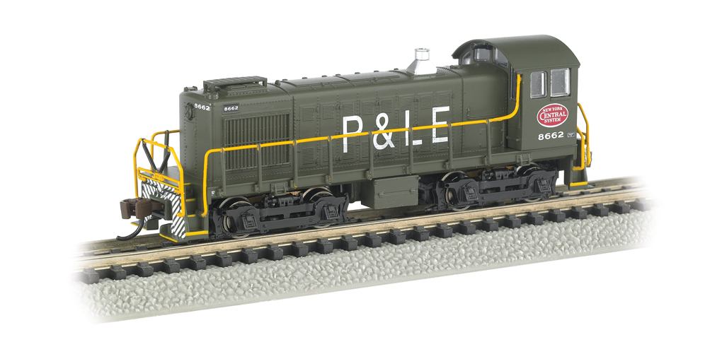 New York Central® System - P&LE #8662 - ALCO S4 Switcher - DCC