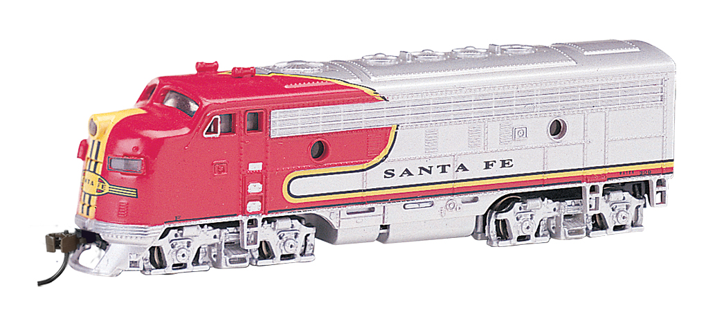 Santa Fe (silver / red War Bonnet) - F7A - DCC