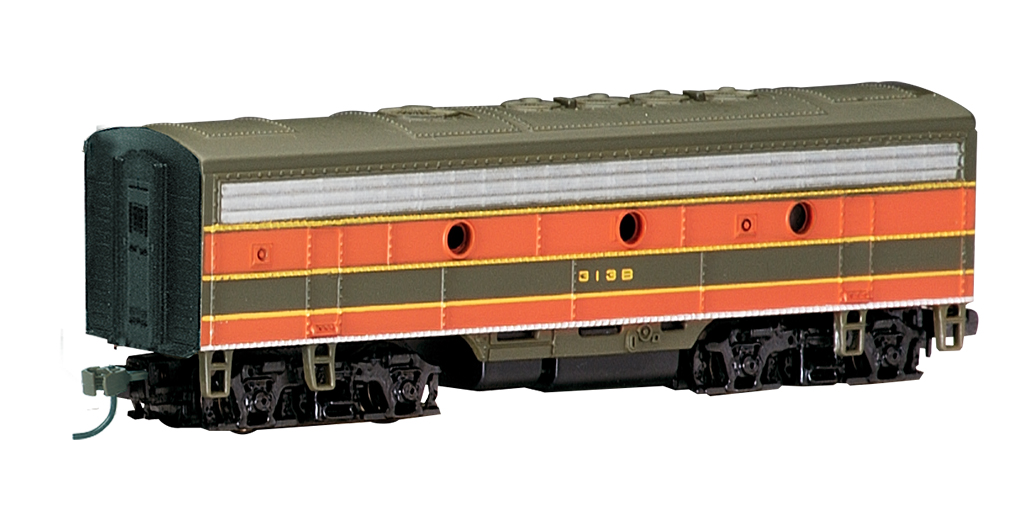 Great Northern (green & orange) - F7B - DCC
