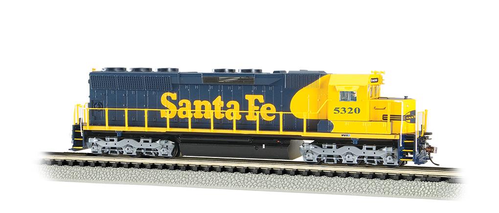 Bachmann Industries Santa FE #5320 EMD SD45 DCC Sound Equipped Diesel Locomotive Train N Scale