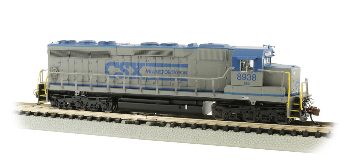 CSX Transportation® #8938 - SD45 - DCC Sound Value