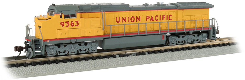 Union Pacific® #9363 - GE Dash 8-40CW - DCC Econami Sound Value
