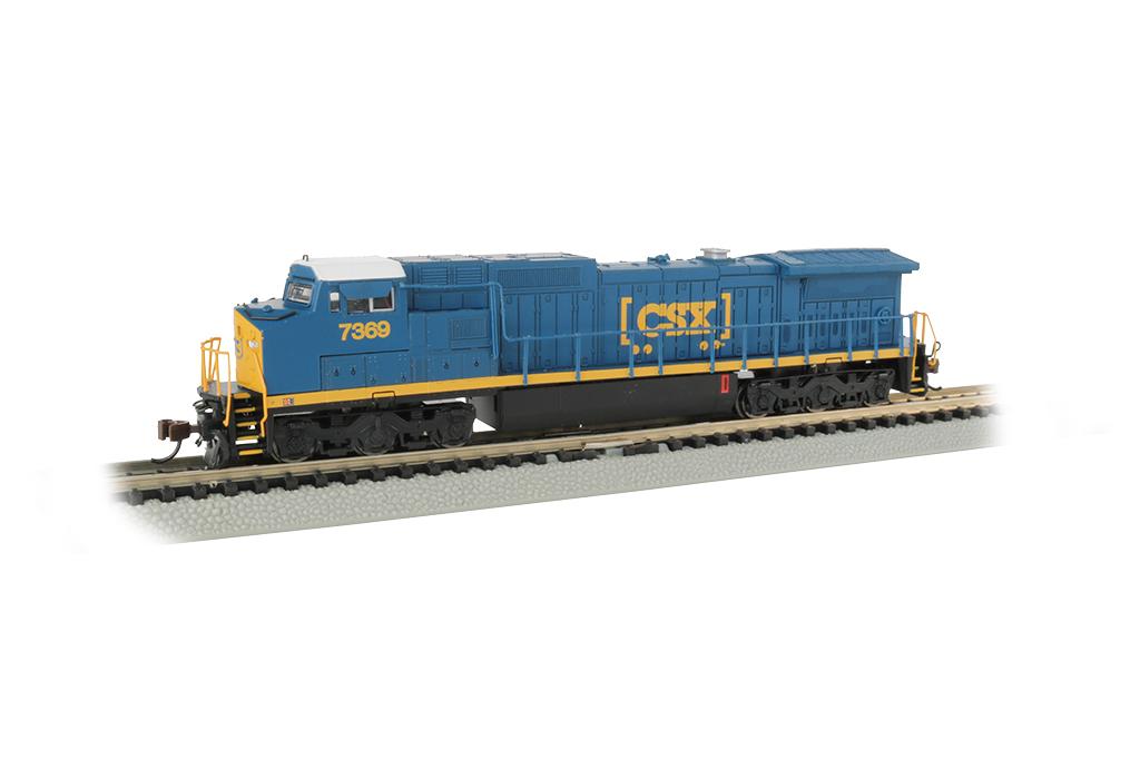 Bachmann 67353 N Dash 8-40CW w/DCC & Sound CSX Transportation #7369 160-67353
