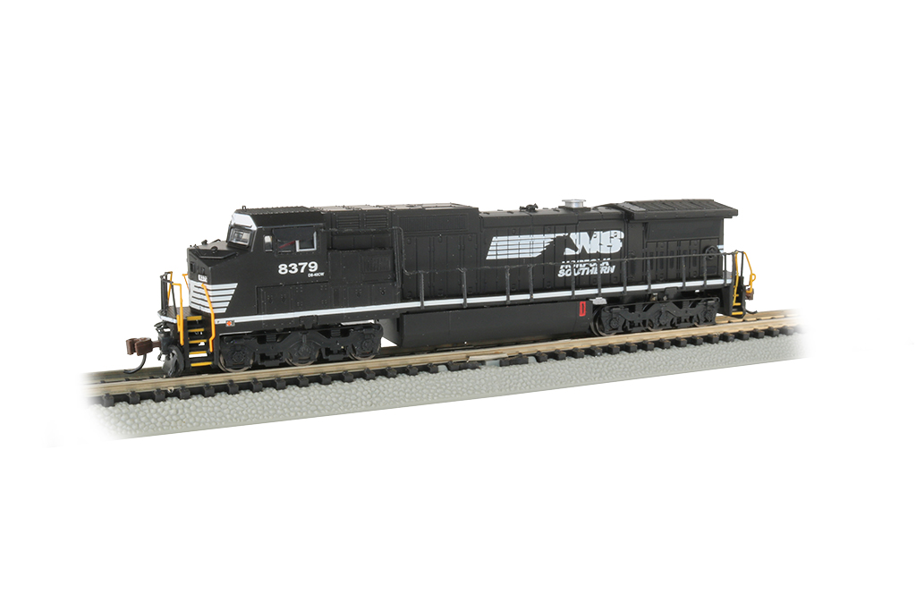 Norfolk Southern #8379 -GE Dash 8-40CW - DCC Econami Sound Value