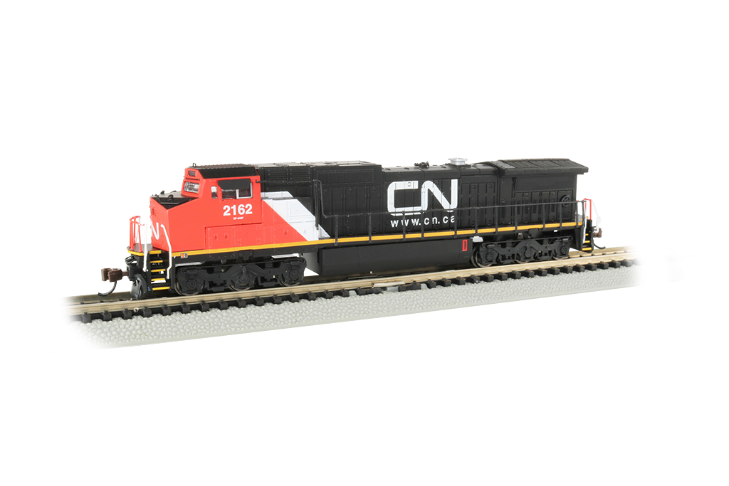 Canadian National #2162 -GE Dash 8-40CW -Econami DCC Sound Value