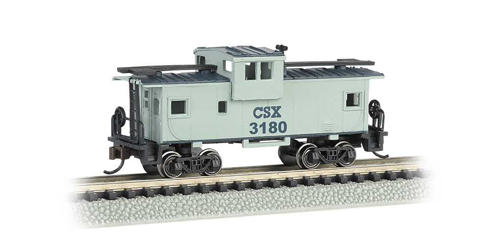 CSX® #3180 - 36' Wide-Vision Caboose