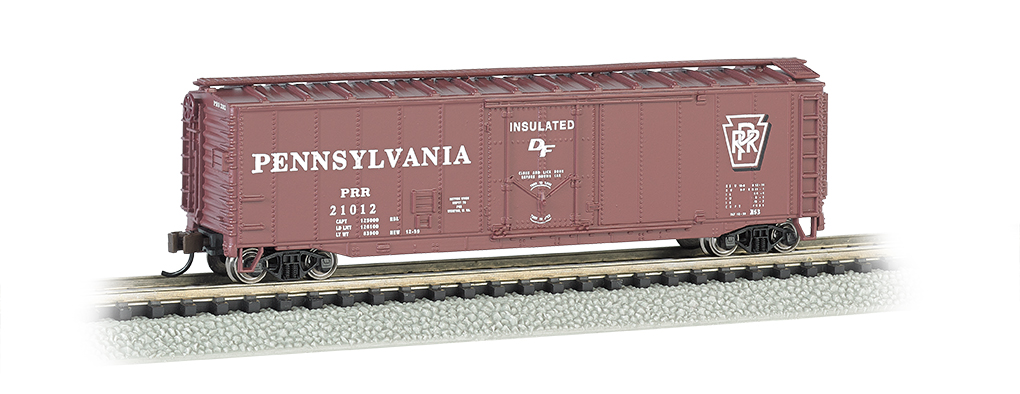 PRR - 50' Plug-Door Box Car