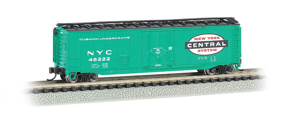 New York Central - 50' Plug-Door Box Car