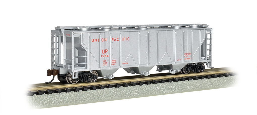 Union Pacific® - PS-2 Three-Bay Covered Hopper