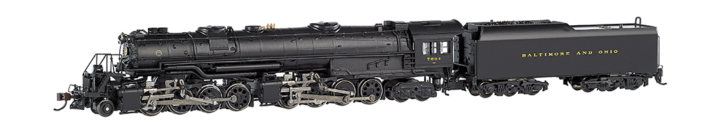 Baltimore & Ohio® #7604 (large dome)-DCC (N Scale EM-1)
