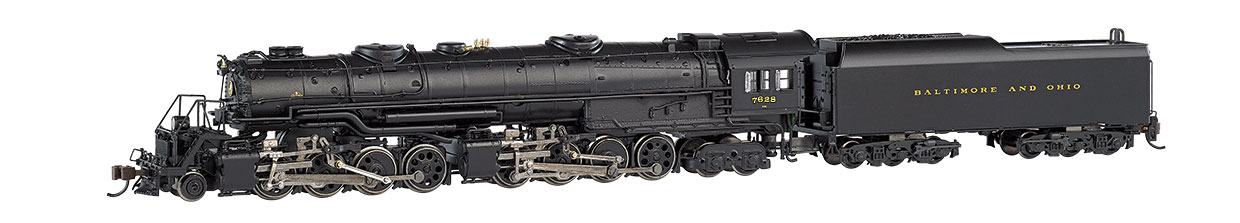 B&O® #7628 - Later Small Dome - EM-1 2-8-8-4 DCC Sound Value