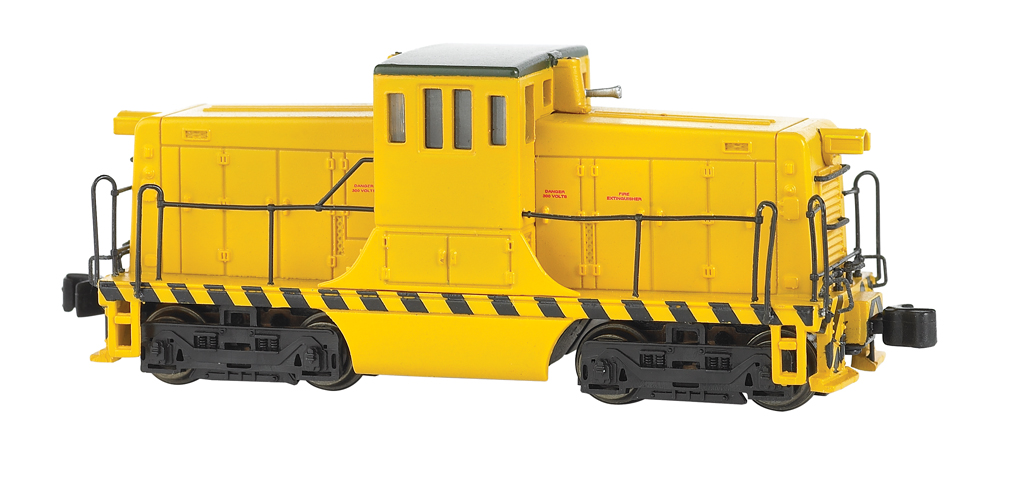 Painted, Unlettered - Yellow - GE 44 Ton Switcher - DCC