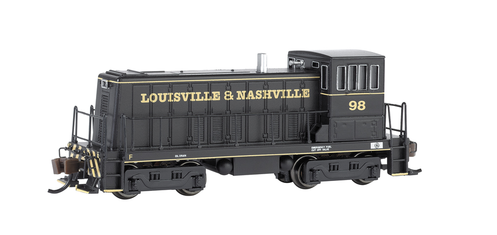 Louisville & Nashville® #98 (Black & Yellow) GE 70 Ton -DCC