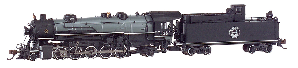 DM & IR #508 - USRA light 2-10-2 - DCC