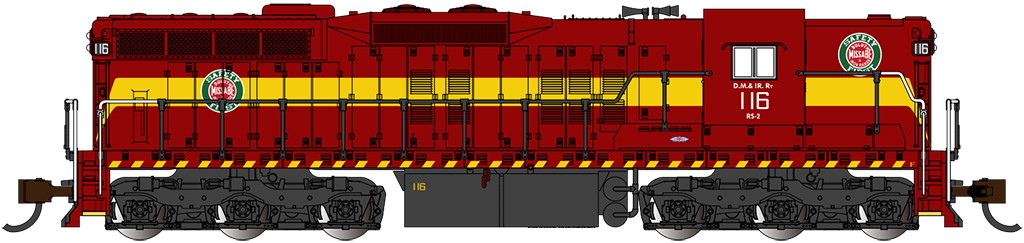 DM&IR #116 - EMD SD9 - DCC Sound Value - Econami