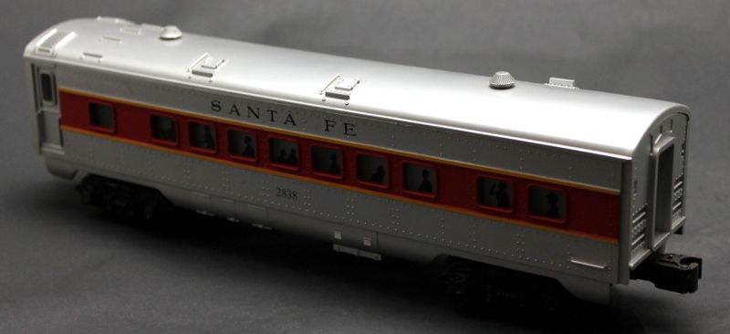 Streamlined Coach Car