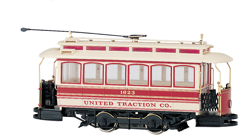 United Traction Closed Streetcar