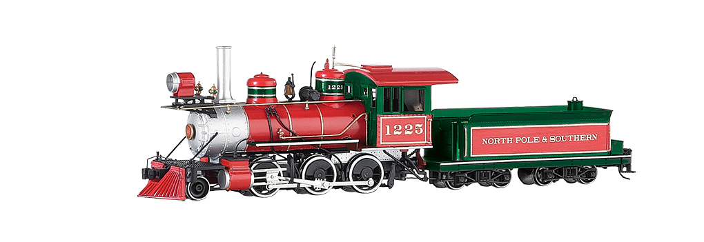 Bachmann 25227 On30 2-6-0 Mogul Standard DC Spectrum North Pole & Southern #1225